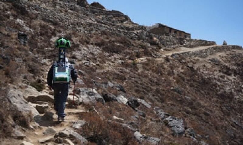 El servicio Street View ofrece vistas del parque nacional de Sagarmatha. (Foto: AFP )