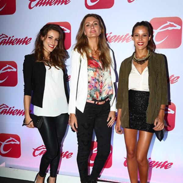 Clarisse Neves, Patricia Scheid y Victoria Monsalvo