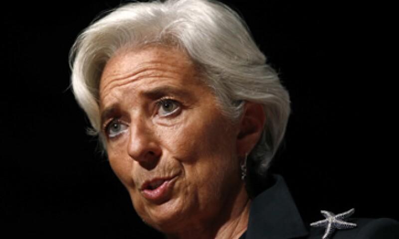 Lagarde generó malestar entre funcionarios europeos el mes pasado al pedir más capitalización para la banca. (Foto: Reuters)