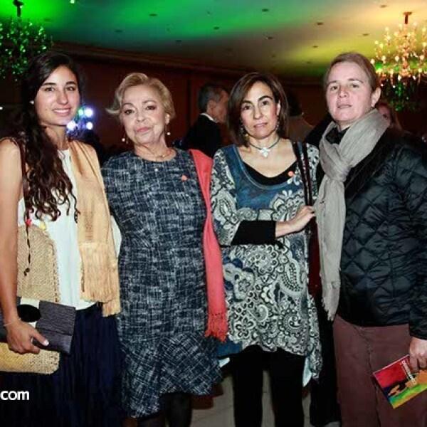 María Bosoms,Marilú Velasco,Flora Barragán y Cecilia Laviada