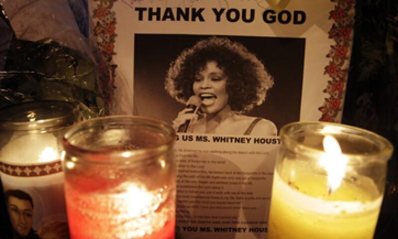 Whitney Houston falleció en la habitación de un hotel de Beverly Hills el sábado pasado. (Foto: AP)