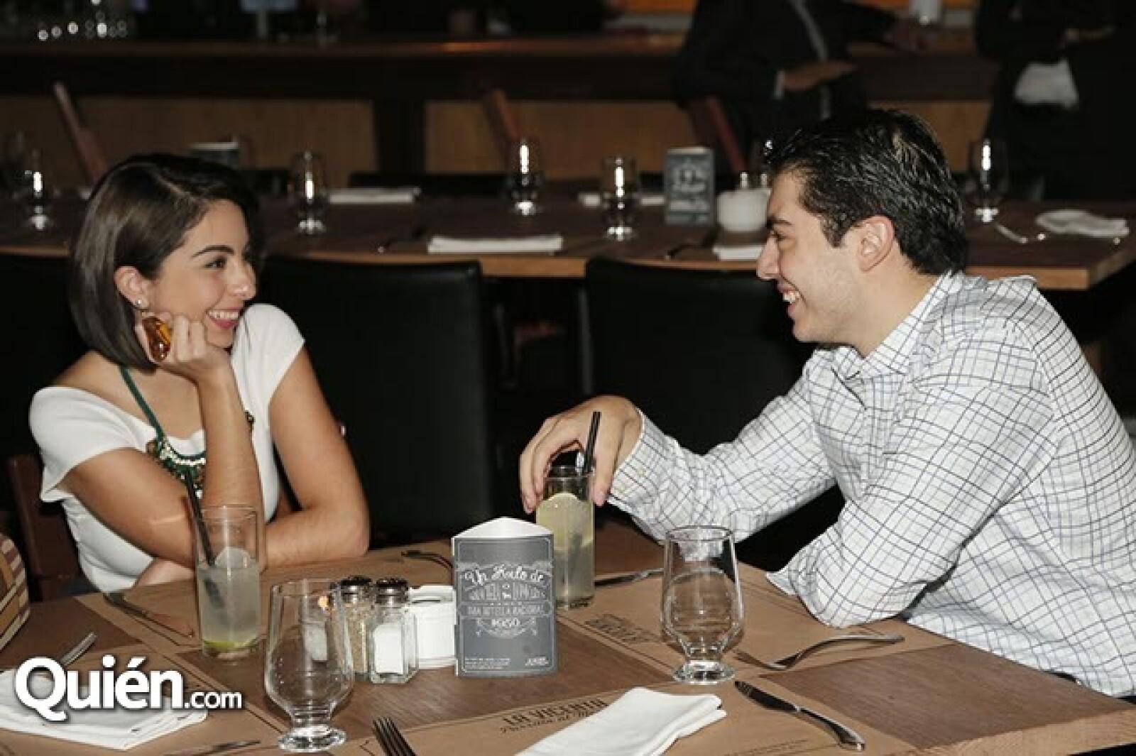Dania Decle y Carlos Licón