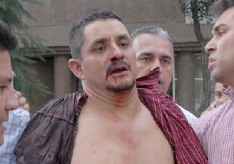 Luis Felipe Hernández Castillo asesinó a dos personas en la estación del metro Balderas. (Foto: NTX)
