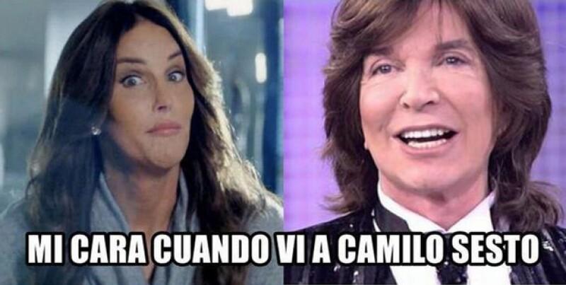 Hubo usuarios que compararon al español con Caitlyn Jenner.