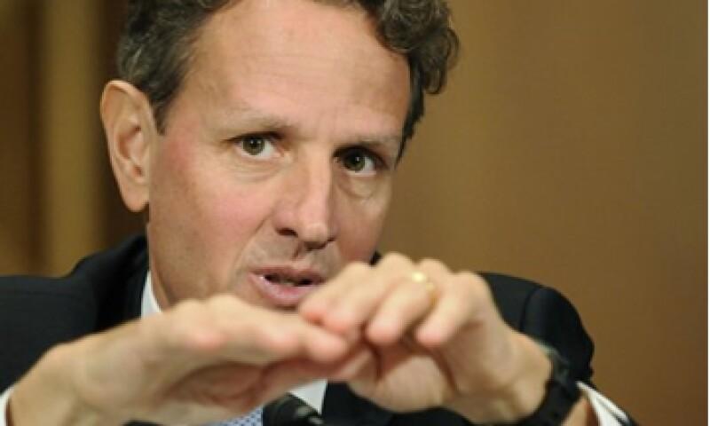 El secretario del Tesoro, Timothy Geithner, aseguró que la crisis de la deuda ya frenó de forma apreciable el crecimiento económico de Europa. (Foto: Reuters)