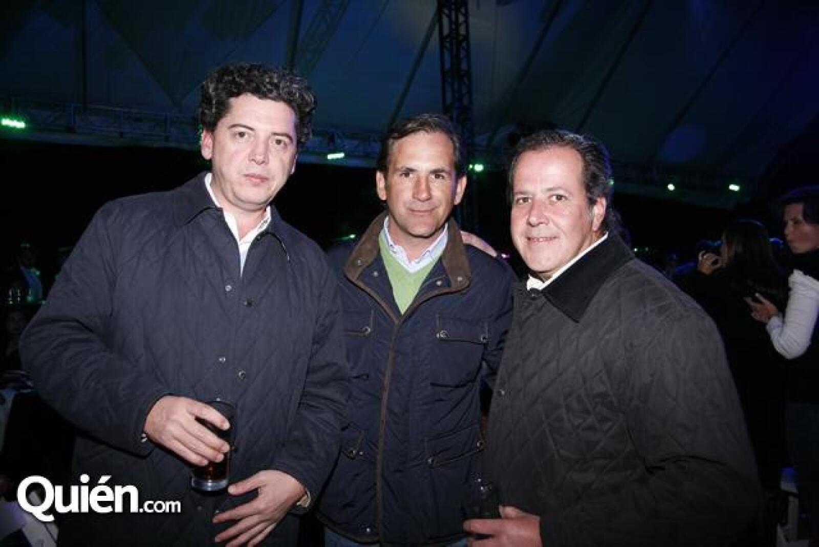 Guillermo Moreno,Alfonso Gutiérrez,Luis Martínez Vértiz