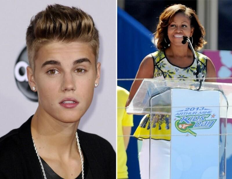Debido a todos los escándalos que ha protagonizado Justin, la primera dama de Estados Unidos comentó en entrevista que si ella estuviera cerca de él, trataría de descubrir lo que le pasa.