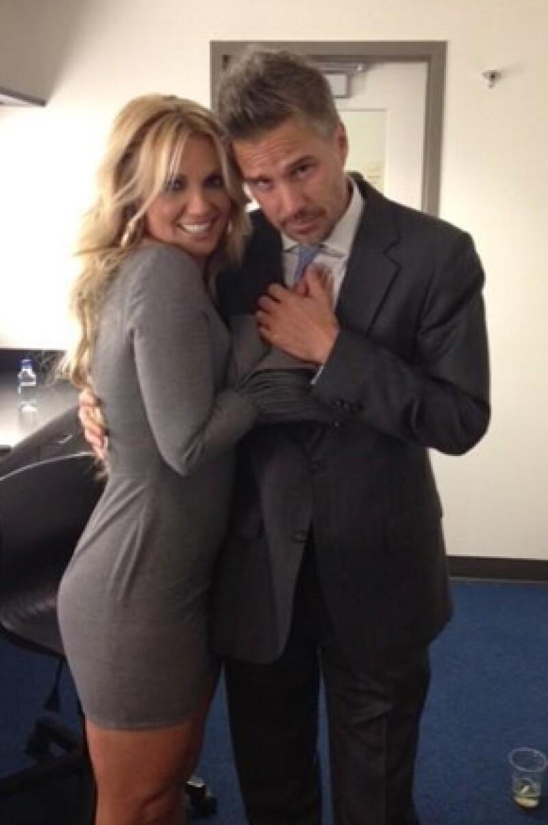 Jason y Britney terminaron a principios de 2013.