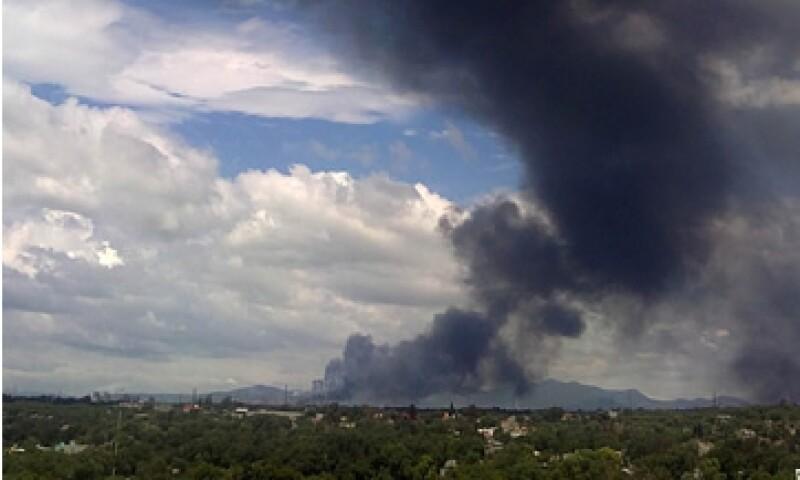 El pasado domingo falleció la tercera víctima de la explosión de la refinería en Hidalgo. (Foto: Notimex)