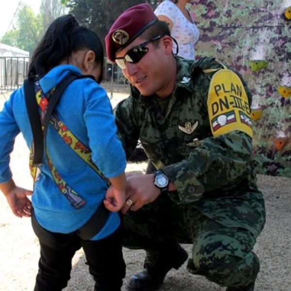 la gran fuerza de mexico sedena 1 soldado exhibición