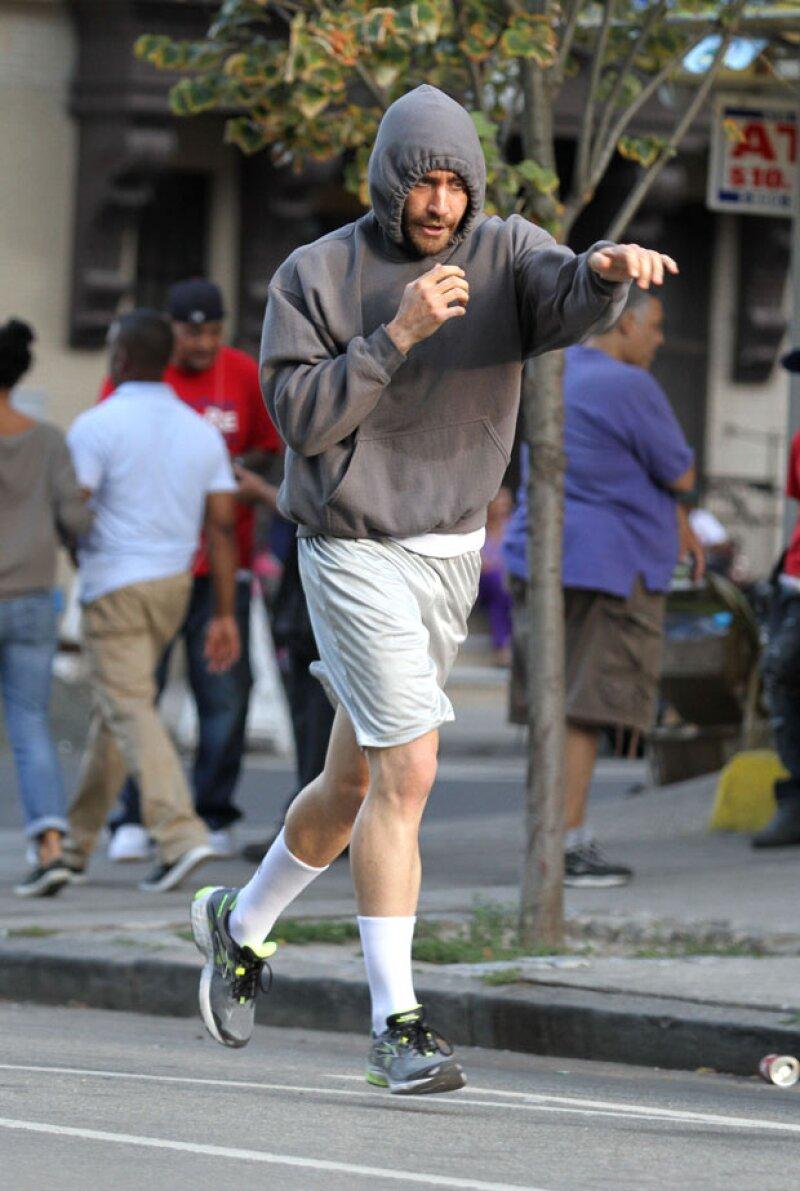 """Sorprendente el cambio que realizó el actor para su papel en la película """"Southpaw"""", practicaba al día seis horas de boxeo y hacía dos mil abs. ¿Ya viste cómo quedó?"""