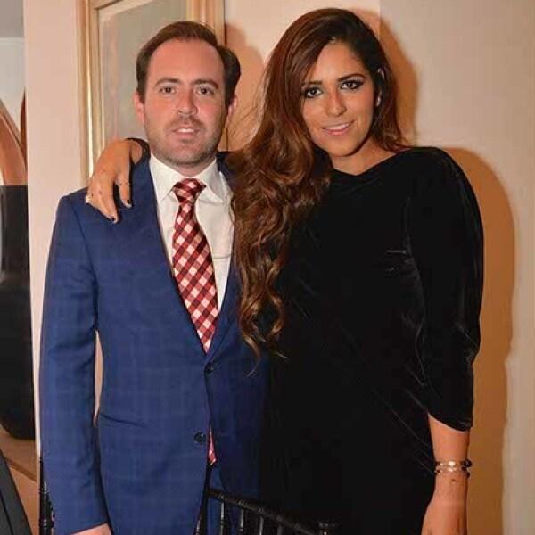 Rogelio Cárdenas y Perla Ealy.