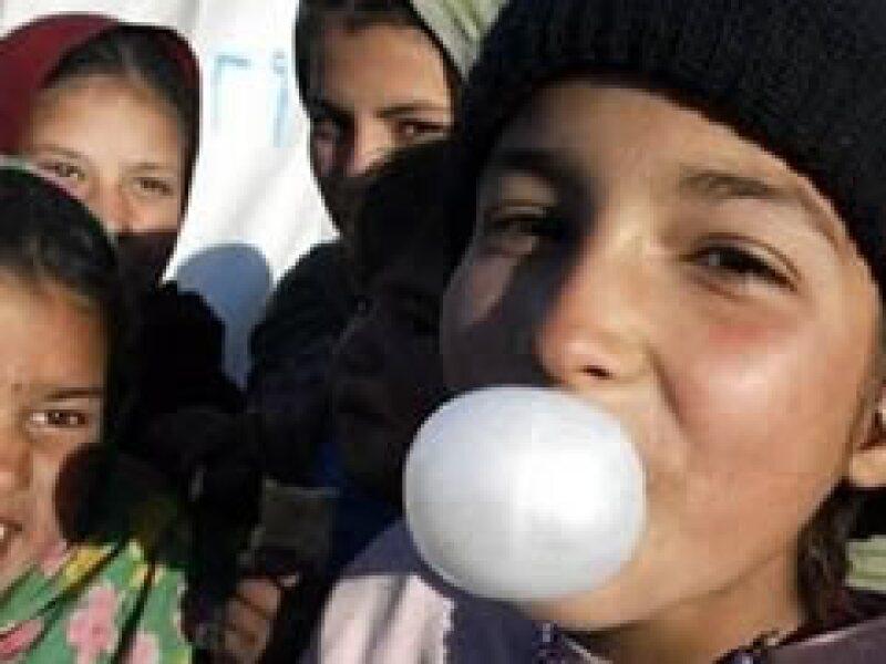 El mexicano consume 1.2 kilogramos de gomas de mascar contra 2.4 kilogramos per cápita en EU. (Foto: Reuters)
