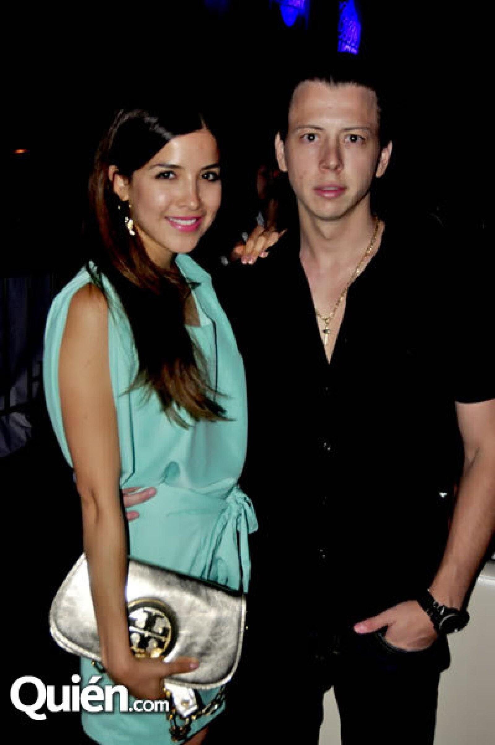 Rebeca Valdés y Christian Bonada