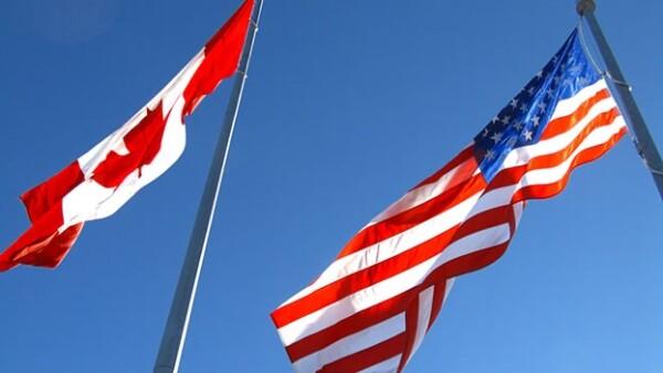 Banderas Estados Unidos Canada