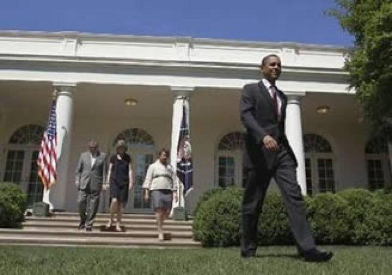 La Casa Blanca amenaza cona vetar una propuesta aprobada en la cámara baja que convoca a 61,000 mdd en recortes. (Foto: Reuters)