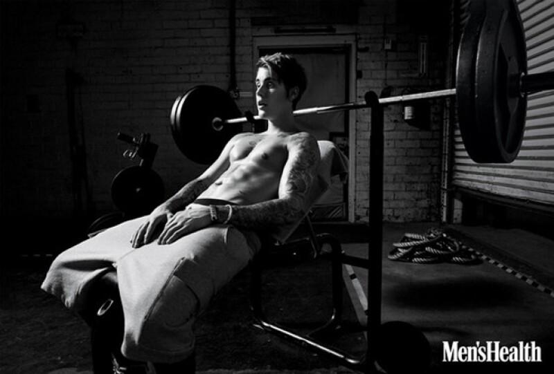 A sus 21 años recién cumplidos, Justin luce como todo un hombre.