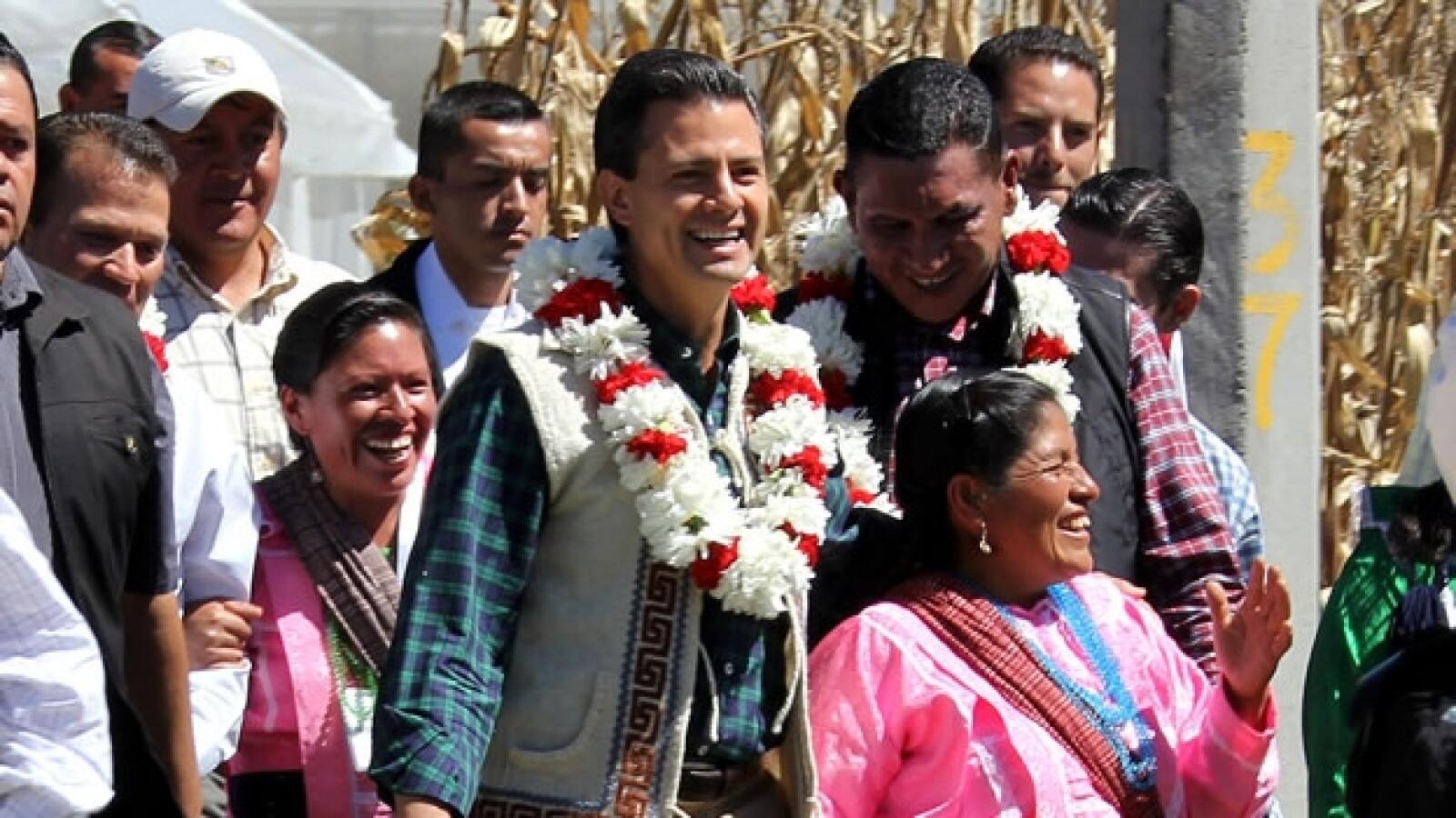 Enrique Peña Nieto indígenas Edomex 4
