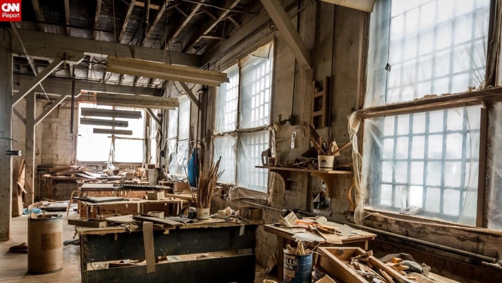 Esta fábrica de Wisconsin fue descubierta en 2009, cuando todavía operaba