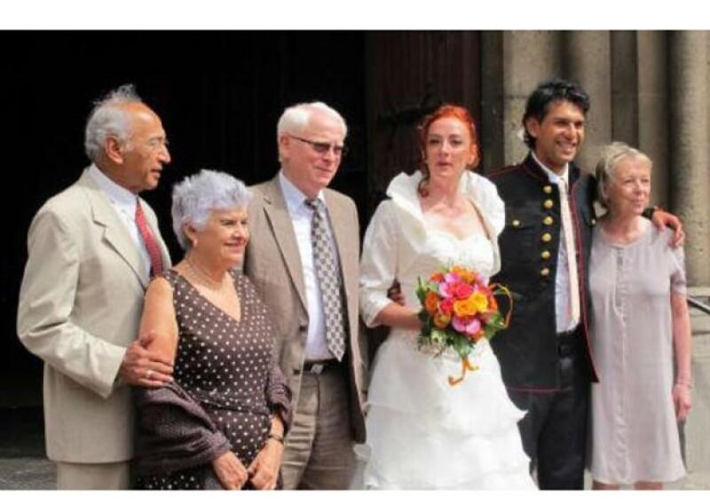 La francesa contrajo matrimonio este fin de semana en una provincia de su país.