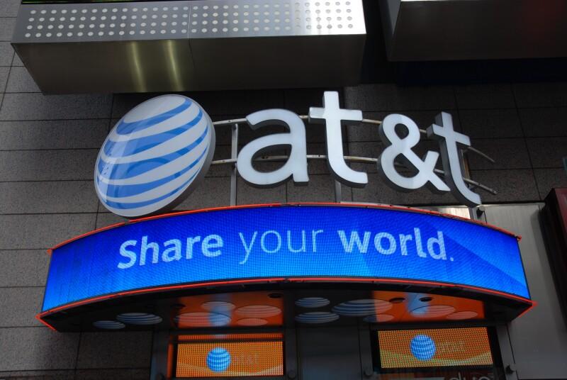 Fusión de AT&T en el aire
