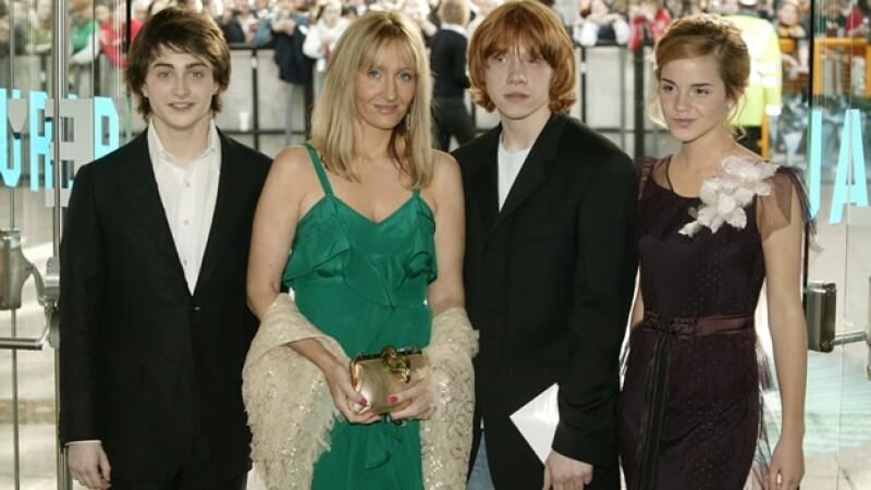 Los actores de la película Harry Potter