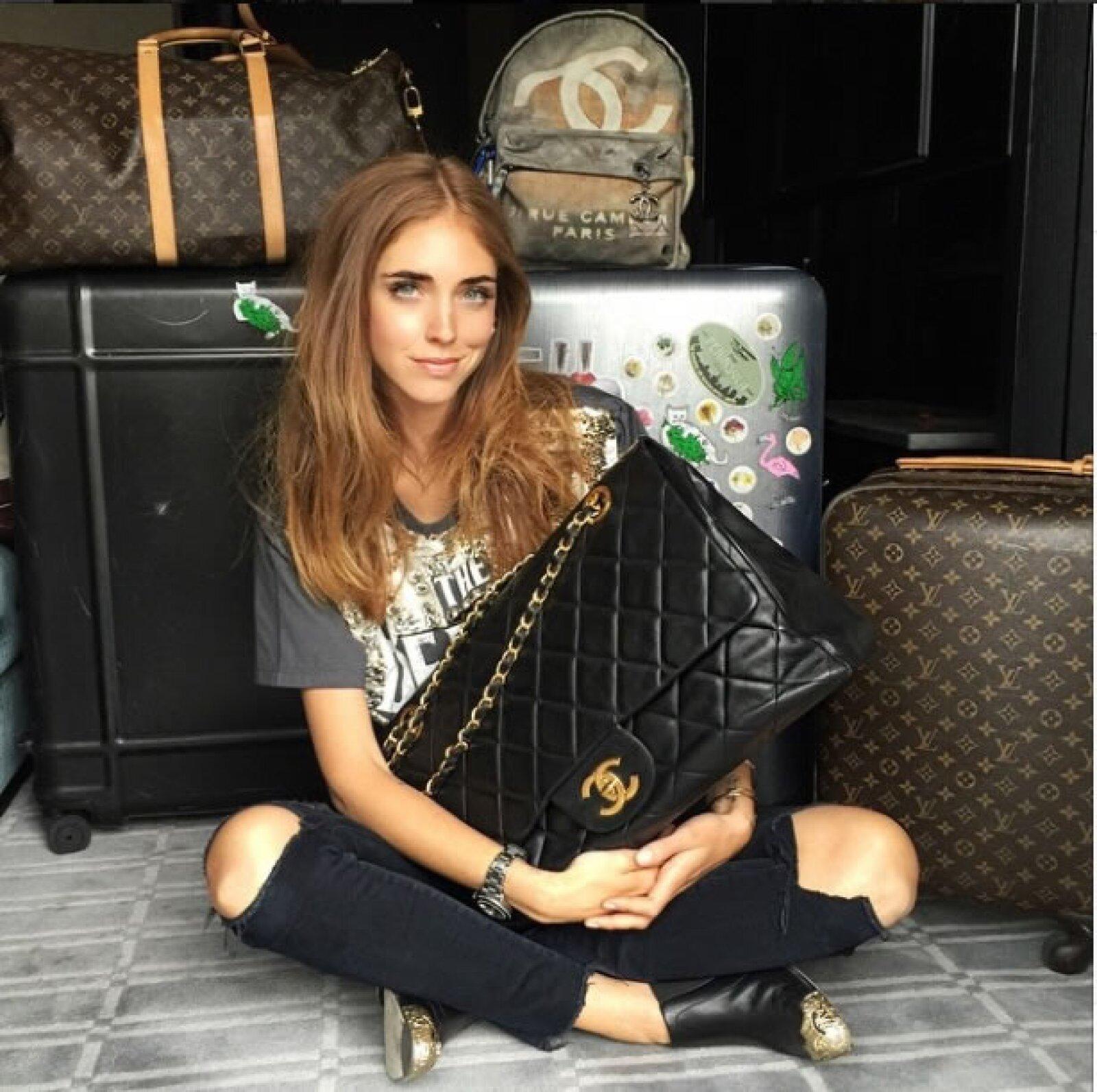 La blogger con más de 3 millones de seguidores necesitó 4 maletas, una backpack Chanel y una bolsa oversize de la misma firma para su viaje a Nueva York durante la Met Gala.