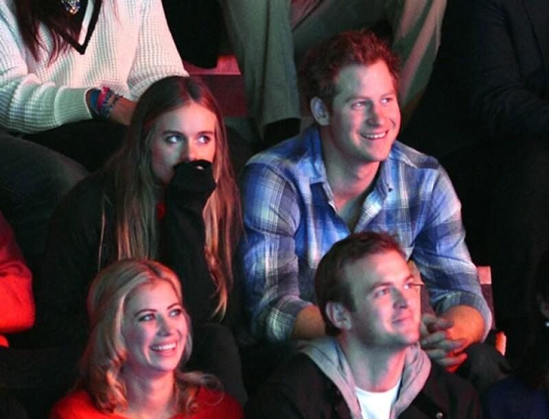 Enrique con Cressida Bonas, su ex. (Foto: Getty Images