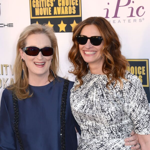 Meryl Streep y Julia Roberts.