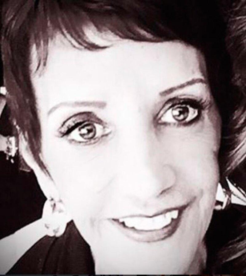 Andrea publicó el mensaje al pie de esta foto de su mamá.