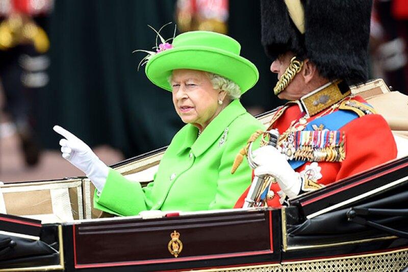 Este año, la reina de Inglaterra celebró su cumpleaños 90.