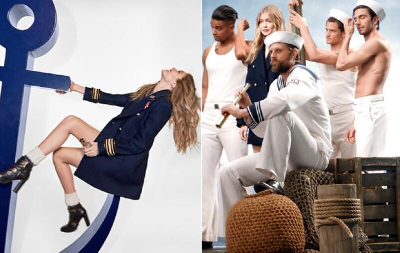 Gigi portagonizó la campaña de la fragancia que se lanzó en julio.