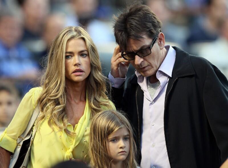 Denise Richards, ex esposa del actor, lo ha demandado por no pagar la manutención y por amenazar a su hija de 10 años con que la mataría.