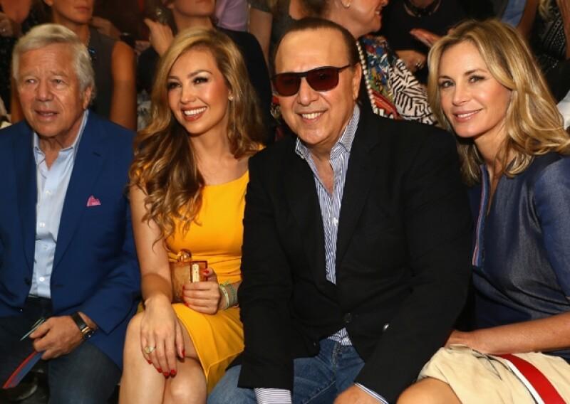 Thalía, Tommy Mottola, Anna Wintour, Anthony Kiedis y Chiara Ferragni fueron algunos de los famosos que engalanaron la presentación Primavera-Verano 2014 del diseñador estadounidense.