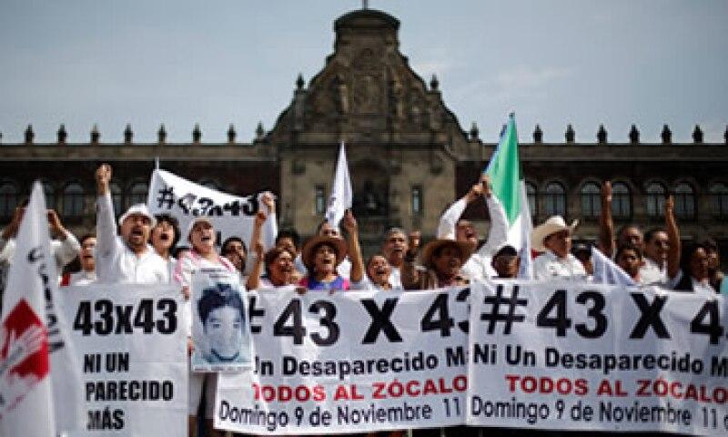 El caso de los estudiantes, desaparecidos desde septiembre, ha sacudido al Gobierno de Enrique Peña Nieto del PRI. (Foto: Cuartoscuro )