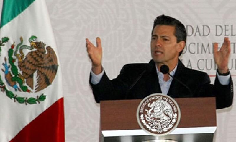 El mandatario señaló que todas las dependencias del Gobierno federal trabajarán en la cruzada.(Foto: Notimex)