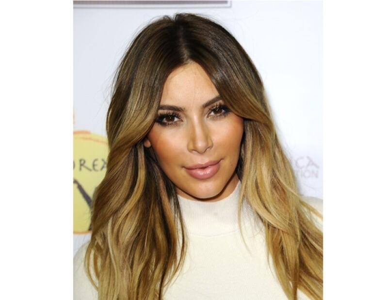 Kim se ha casado dos veces y va por la tercera.