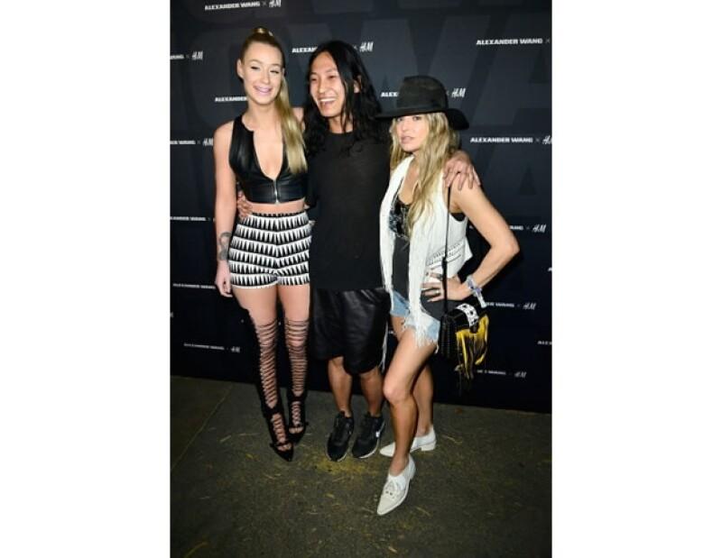 Iggy Azalea, Alexander Wang y Fergie en la kick off party de H&M.