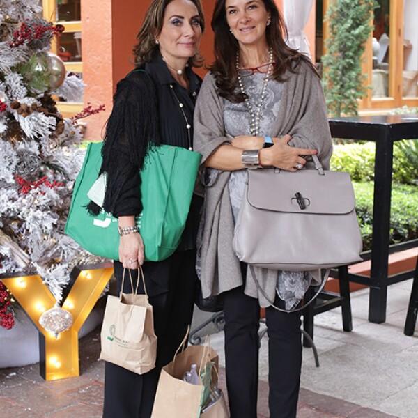 Lígia Ramírez y Catalina Gerard