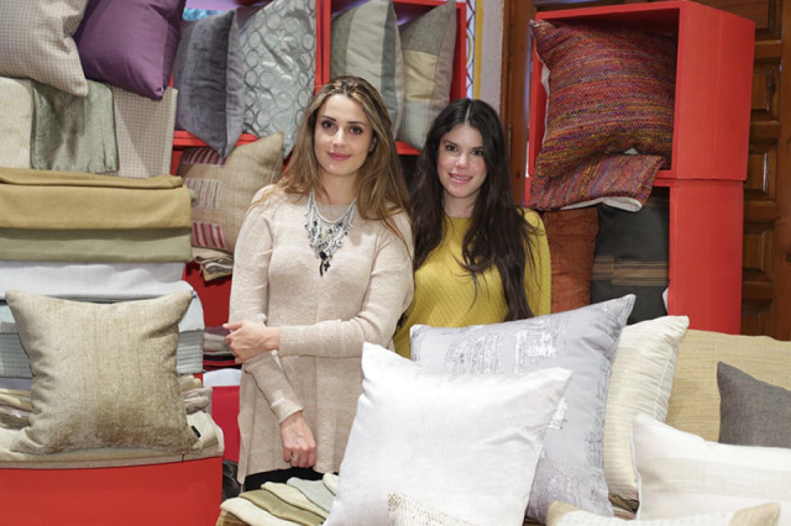 Andrea Ortega e Ingrid Palme