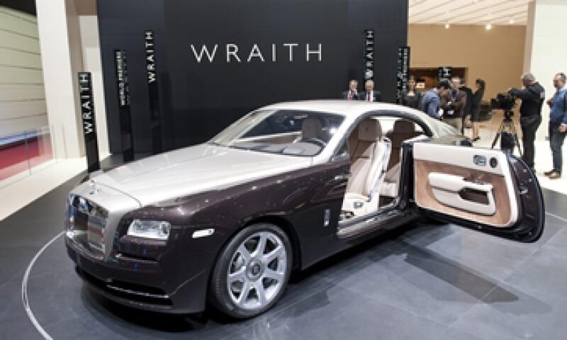 El Wraith es muy grande, con un peso de alrededor de 2268 kilogramos. (Foto: EFE)