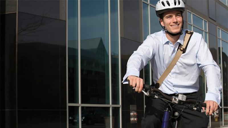 Moverse en bicicleta