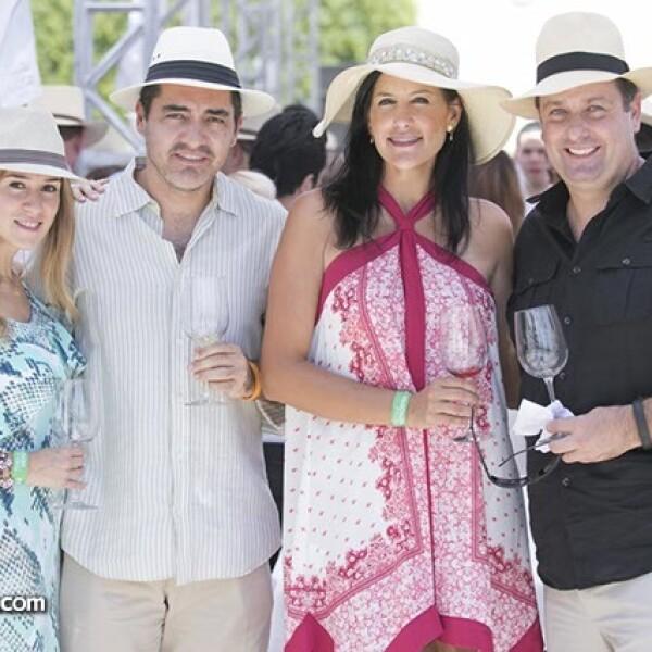 Mariana Robles,Enrique Abaroa,Karina Armenta y Francisco Suárez