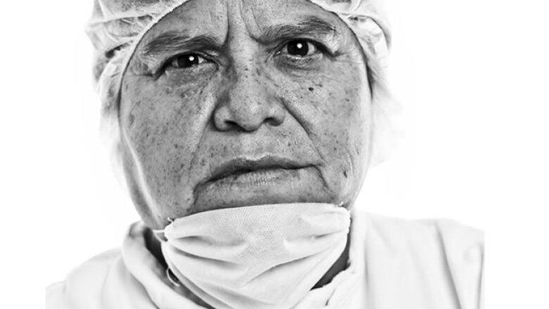 """Boehringer, Guadalupe Gonz�lez Valdivia """"Valdi"""", 34 a�os en la empresa"""