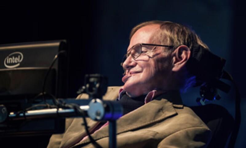 Hawking cree que debe haber otros casos de vida en el universo. (Foto: AFP)