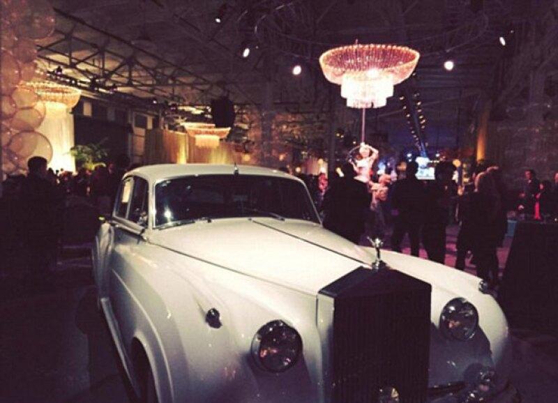La temática fue de Great Gatsby, por lo que la directora ejecutiva rentó un Rolls-Royce.