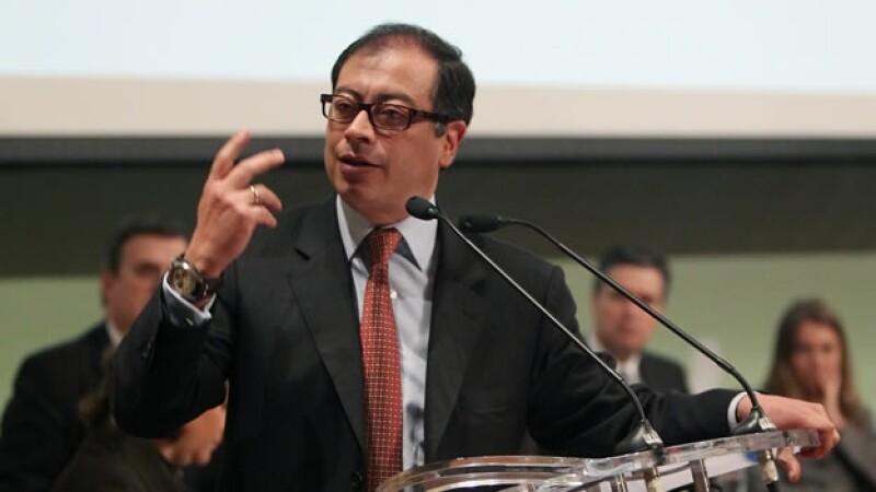 alcalde de bogota inaugura cumbre de ciudades y cambio climatico