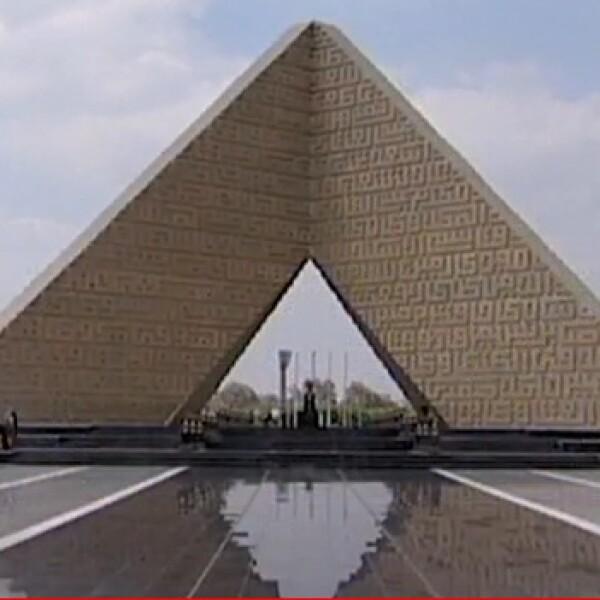 Egipto - tumba del soldado desconocido