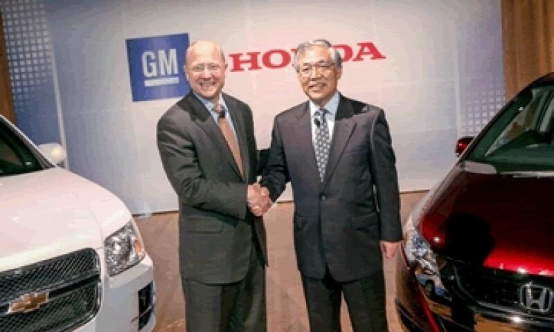 GM y Honda