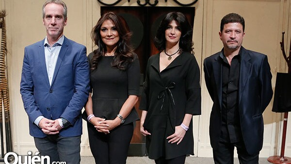 Sergio Rojkind,Yolanda Pulido,Odette Jacobo y Federico Ochoa